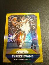 2015-16 Tyreke Evans Panini Prizm Gold #10/10 New Orleans Pelicans