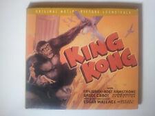 KING KONG (1933) / Max STEINER / CD / 1999 / Turner Classic / DIGIPAK Soundtrack