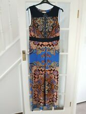 MONSOON maxi dress  size 16 tall