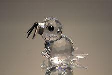 Swarovski Mini Baby Seal number 7663 NR 46 Black Whiskers Retired Mint in Box