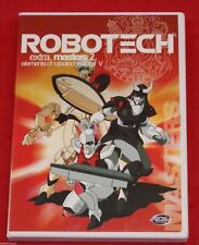 Robotech E5: Masters 2 - Elements Of Robotechnology V (DVD, 2001) Anime Action