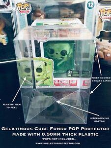 1 Box Protector for Gelatinous Cube Funko POP! Protector .50mm Acid-Free Plastic