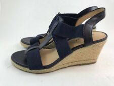Lucky Brand Kalenna Wedge Sandal Moroccan Blue