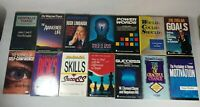 14 Book Lot  Audio Book On Tape / Cassette SELF HELP See titles in photos lot