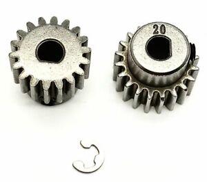 Arrma VORTEKS 4x4 3s BLX - Pinion Gears (18 & 20t) 0.8 Mod Safe-D5t  ARA4305V3