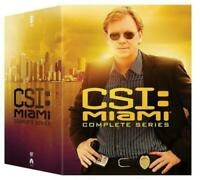 CSI: Miami: The Complete Series Seasons 1-10 ( DVD Box Set Region 1 ) BRAND NEW