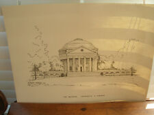 University of Virginia Pen and Ink Drawing