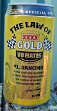XXXX 2009 V 8 Mates No 1 Dancing Bottom Opened Empty Limited Edition