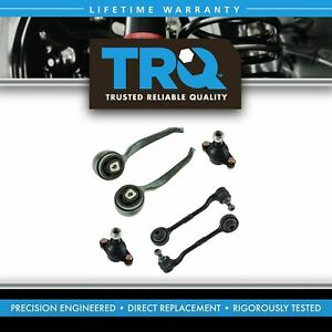 TRQ Front Lower Control Arm Ball Joint Suspension Kit 6pc for BMW E90 Xi AWD