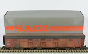 SAGI HO BOXED M711 METAL BRASS? FS ITALIA BAGGAGE WAGON NEM CLOSE COUPLINGS MINT