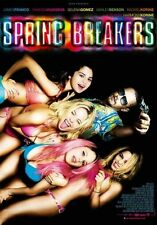 SPRING BREAKERS - Original DS Movie Poster - D/S 27x40 INTL Version Selena Gomez