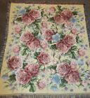 """MOHAWK HOME Roses Tapestry Throw 59 x 51"""""""
