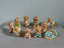 Lot Of 10 Pendelfin Rabbit Figurines