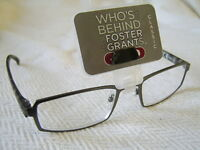 """Foster Grant""""Barrie""""Metal Framed Reading Glasses RRP £18.50 SALE FROM £4.99.."""