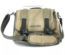 Mobile Edge Eco-Friendly Canvas Laptop Messenger - Olive Green