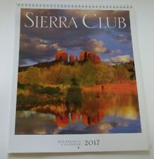 NIB 2017 Sierra Club Wilderness Wall Calendar Nature Vistas President Aaron Mair