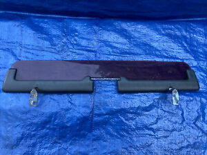 2001-05 Toyota MR-2 Spyder OEM Center Wind Deflector Air Blocker Shield SMOKED