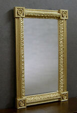 Neo Classical Mirror ~ Handcrafted ~ Jim Coates ~ Dollhouse Mini ~ Room box