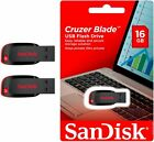 SanDisk 16GB x2= 32GB Cruzer Blade USB Flash Drive Thumb Pen Memory Stick SDCZ50