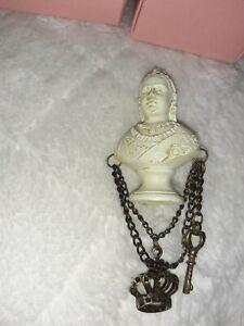 Queen Victoria Bust Brooch. Steampunk
