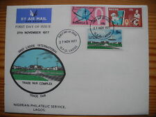Nigeria 1977 Trade Fair FDC