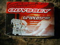 BMX Odyssey TRIPLE TRAP 1/2 Pedals RED / PINK NOS New in package
