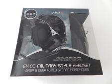 Gioteck EX-05 Black Headband Headsets New