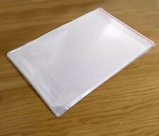 100 x A5 C5 Quality Clear Cello Cellophane Display Greeting Card bags Resealable