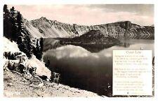 RPPC,Crater Lake,Oregon,Klamath County,W.Andrews Photo,c.1945-50