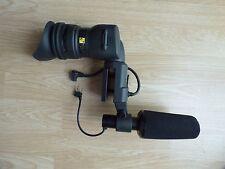 MICROFONO & Visiera Canon XL2 3CCD Professional Camcorder MiniDV Fotocamera digitale