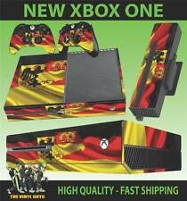 XBOX ONE CONSOLE STICKER GERMAN FLAG GERMANY COAT OF ARMS SKIN & 2 PAD SKINS