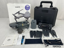 DJI Mavic Pro 4K Folding Drone Quadcopter Gray, Remote, Battery, Case, Props