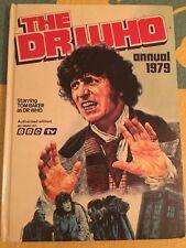 Doctor Who Dr Annual 1979 Dalek Tom Baker BBC