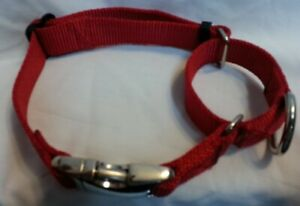 1.5 Martingale Dog Collar  Hand Made  METAL BUCKLES 5 Colors
