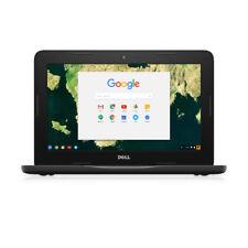 Dell Chromebook 3180 11.6 Intel Celeron 4gb RAM 16gb eMMC Google Chrome Black