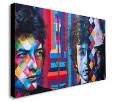 Bob Dylan - Kobra Graffiti - Canvas Wall Art Framed Print