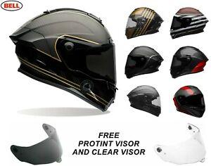 Bell 2021 Race Star Flex DLX Mit Protint Self Tönung Visier Motorrad Helm