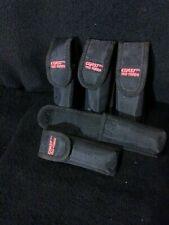 New listing 5 Black Knifes Sheath'S Coast Tac Torch,Black No Knives Up To 5''