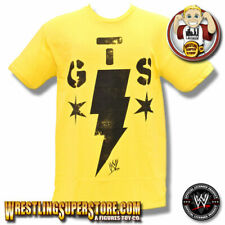 WWE CM Punk Go To Sleep (GTS) Adult Size Yellow T-Shirt