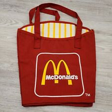 Vintage McDonald's Red French Fry Box Canvas Tote Bag