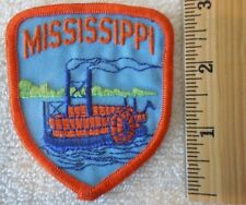 MISSISSIPPI PATCH (STATE, SOUVENIR, STEAMBOAT)