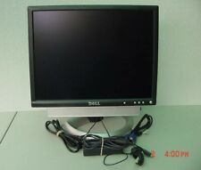 "Dell UltraSharp 2001FP 20"" wide screen LCD Monitor VGA DVI USB SOUND BAR"