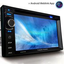 Autoradio con Bluetooth 2 DOPPIO DIN DVD USB mp3 navi DAB + schermo di navigazione