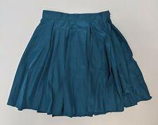 American Apparel Pleated Tennis Mini Skirt Blue Women's Size Small NWOT