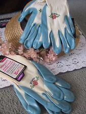 Women'S Nitrile Palm Garden Gloves Kinco Nylon Knit Large Nip 2 Pairs gripping