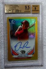 2014 Bowman Chrome Daniel Palka Gold Refractor Auto Card #/50 BGS 9.5 Mint Qty.