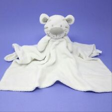 Primark Early Days white tiger lion comforter doudou blankie baby soft toy plush