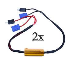 2 résistances anti-erreur ODB 50W pour ampoules à leds H1