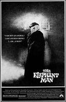 "The Elephant Man movie poster  : 11"" x 17"" - John Hurt, David Lynch"