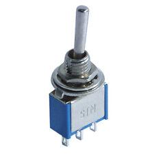 Mini Kippschalter 3 Polig 250V 3A Ein/Aus/Ein Miniatur KFZ Schalter mit Lötösen